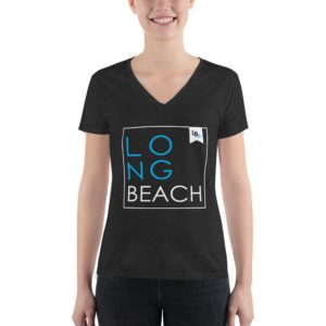 Long Beach Squared Women's V-Neck