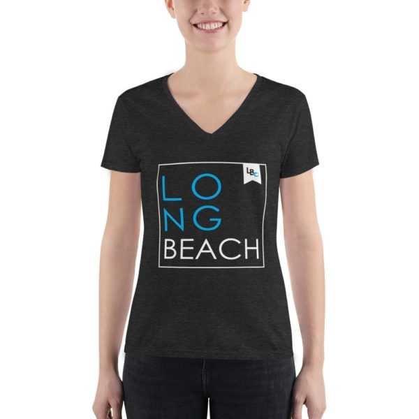 Long Beach Squared Women's V-Neck