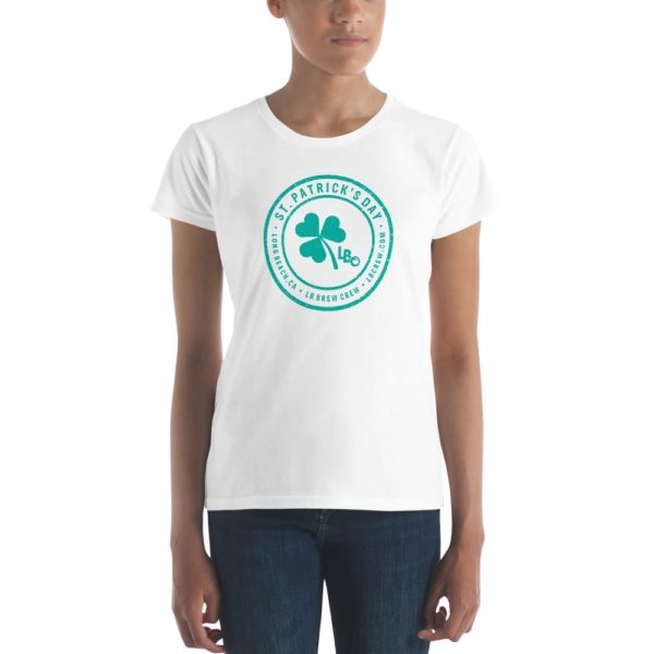 St. Patrick's Day   Long Beach Ladies T-shirt